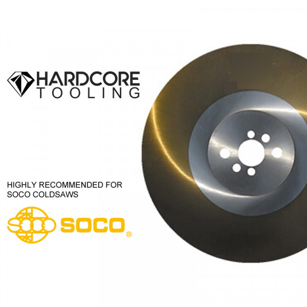 Soco Cold Saw Blade 370 Mm Ticn Coated High Speed Stee For Model Cold Saw Mc 315 Pv 370 Mm Diameter