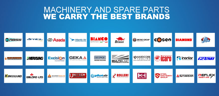 Machinery And Spare Parts We Carry The Best Brands Slider