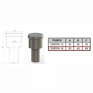 Omera 16 Square Punch
