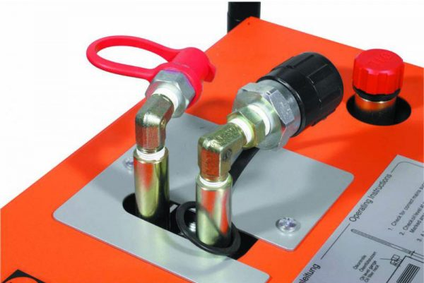 Alfra Aps 110d Hydraulic Punch And Sc 17d Pump Se Double Acting