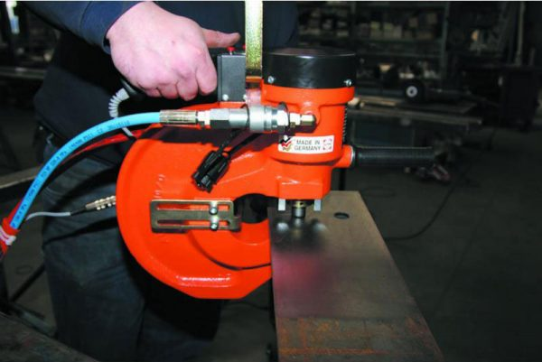 Alfra Aps 110d Hydraulic Punch And Sc 17d Pump Se Zoomed