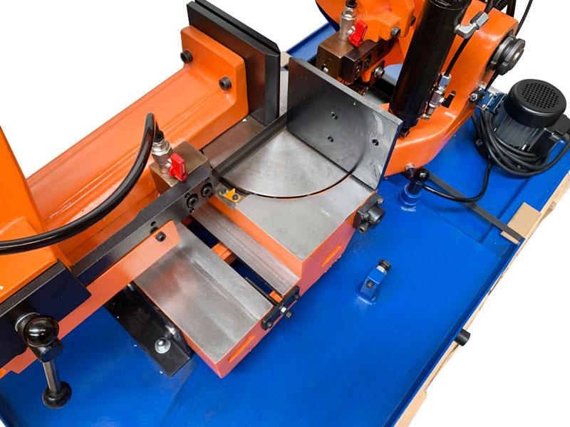 Blitzer 285 Mg Gravity Feed Mitre Cutting Bandsaw 240v Single Phase 001