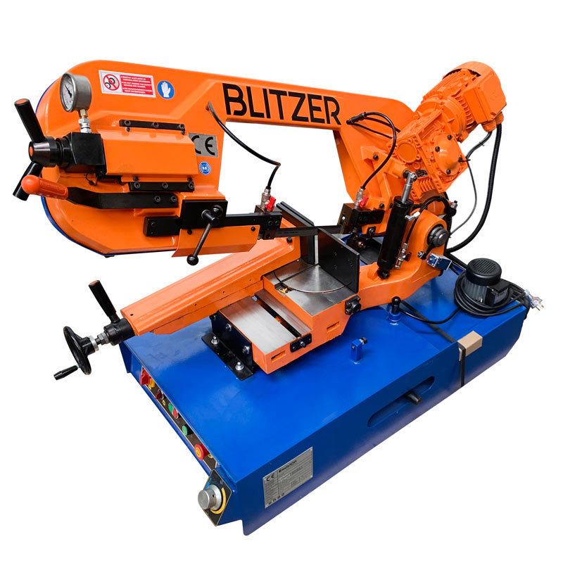 Blitzer 285 Mg Gravity Feed Mitre Cutting Bandsaw 240v Single Phase 002