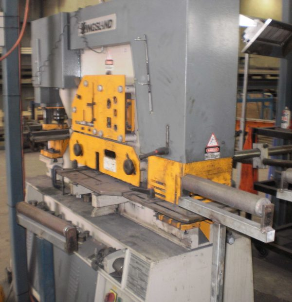 Used Kingsland Multi 95 Iron Worker For Sale In Australia 1