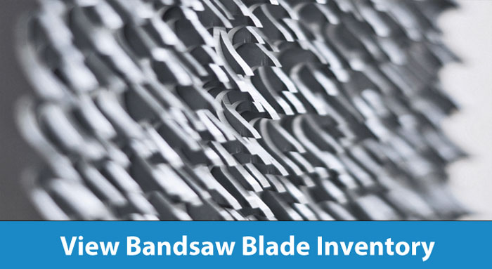 View Bandsaw Blades Inventory