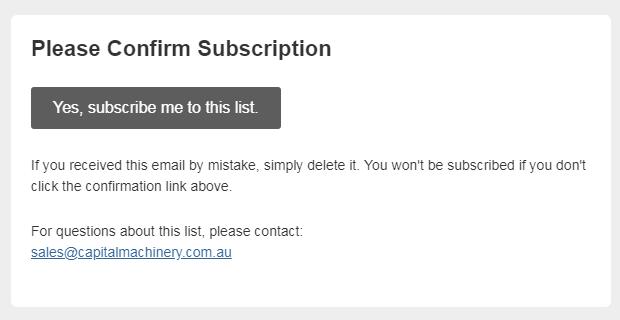 Newsletter Mailchimp Check