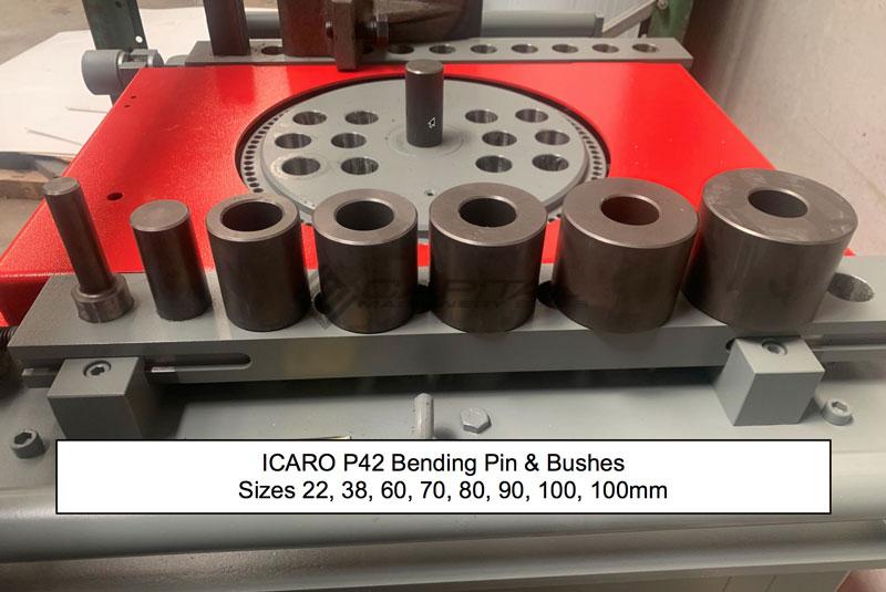 Icaro P42 Bending Pin Bushes