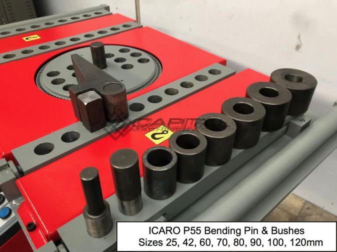 Icaro P55 Bending Pin Bushes