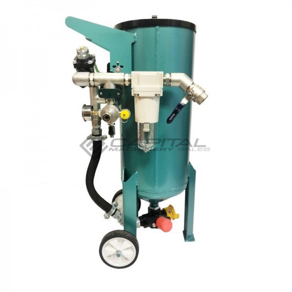 Multiblast Amb90 40 Litre Pressure Pot Sandblaster Equipment Basic Package 1