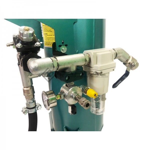 Multiblast Amb90 40 Litre Pressure Pot Sandblaster Equipment Basic Package 4