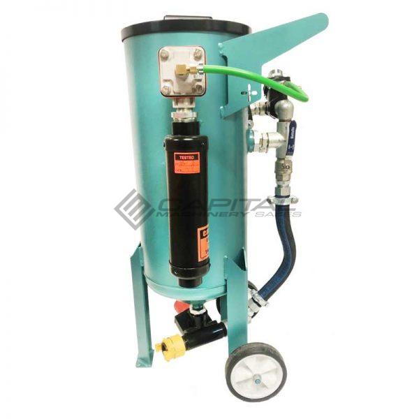 Multiblast Amb90 40 Litre Pressure Pot Sandblaster Equipment Basic Package 9