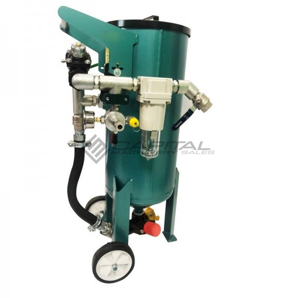 Multiblast Amb90 F 40 Litre Pressure Pot Sandblaster Equipment Full Package 3