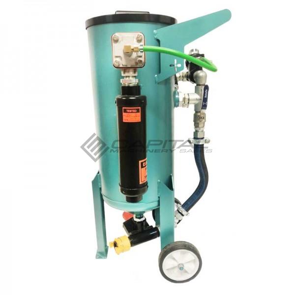 Multiblast Amb90 F 40 Litre Pressure Pot Sandblaster Equipment Full Package 4