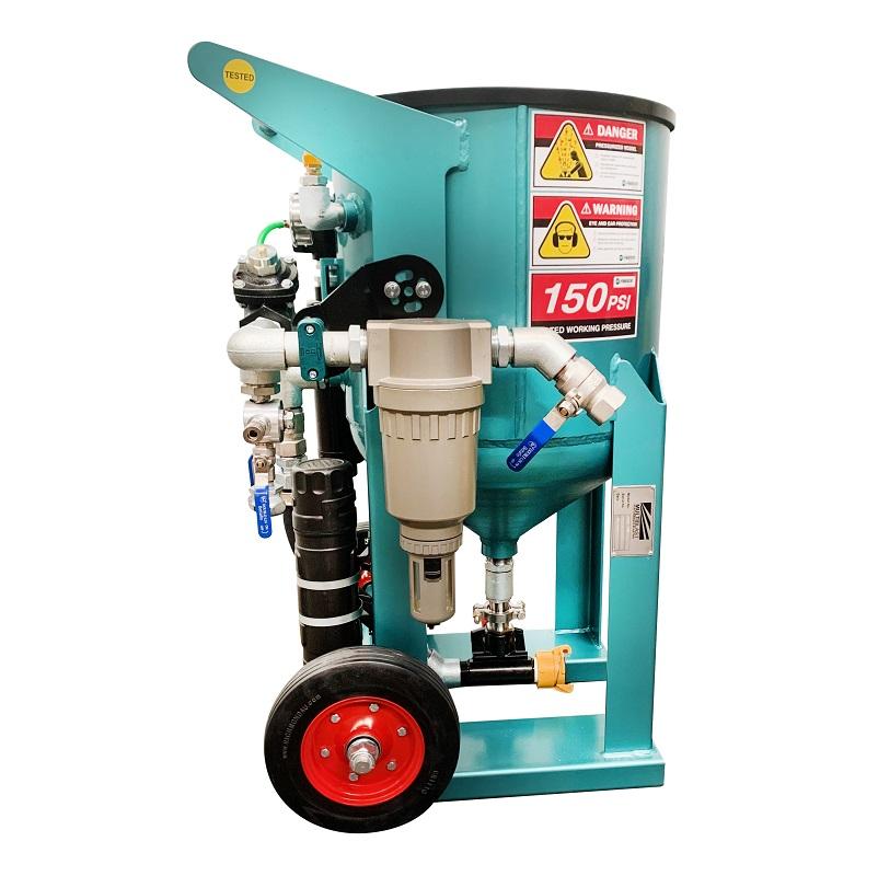 Multiblast Pro 180 80 Litre Blast Pot Machine Basic Package 1
