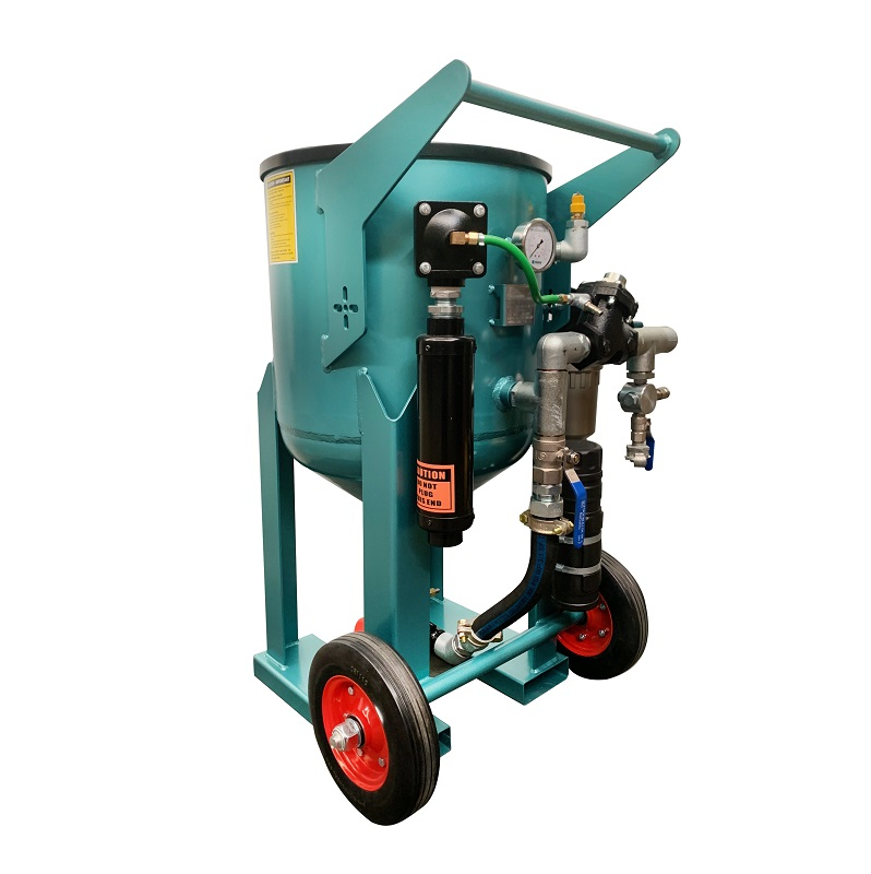 Multiblast Pro 180 80 Litre Blast Pot Machine Basic Package 3