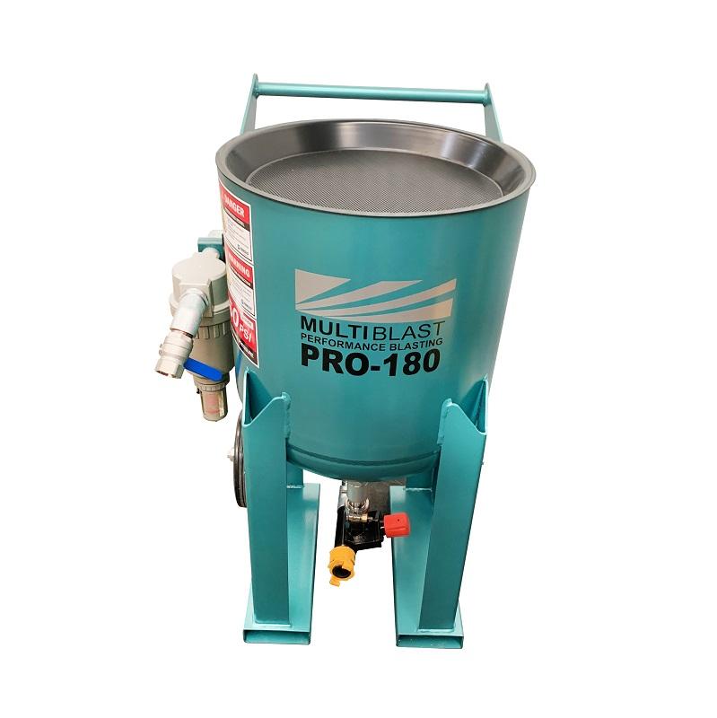 Multiblast Pro 180 80 Litre Blast Pot Machine Basic Package 4