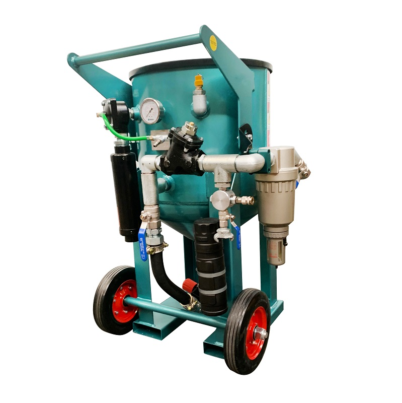Multiblast Pro 180 80 Litre Blast Pot Machine Basic Package 5