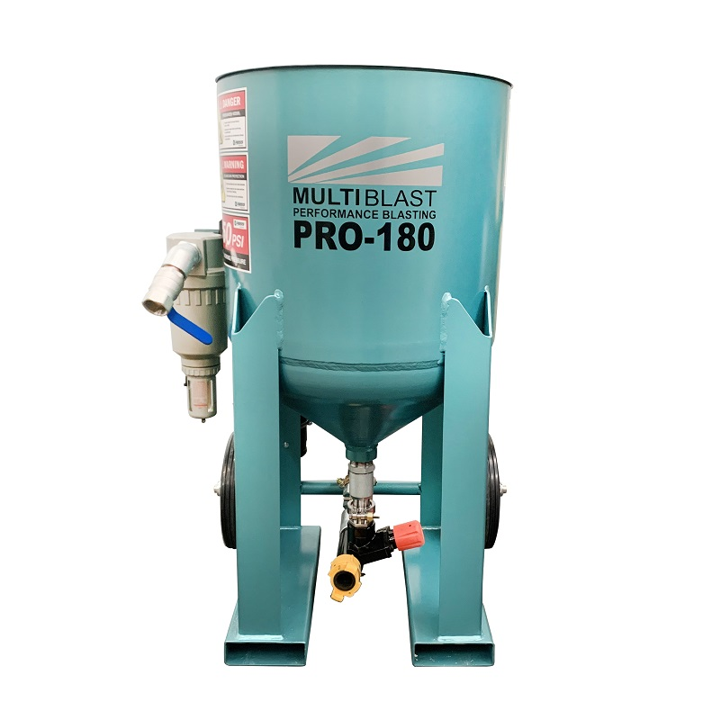 Multiblast Pro 180 80 Litre Blast Pot Machine Basic Package