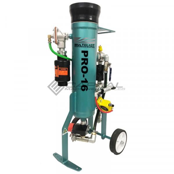Multiblast Pro16 7 Litre Blasting Pot Machine Full Package 001