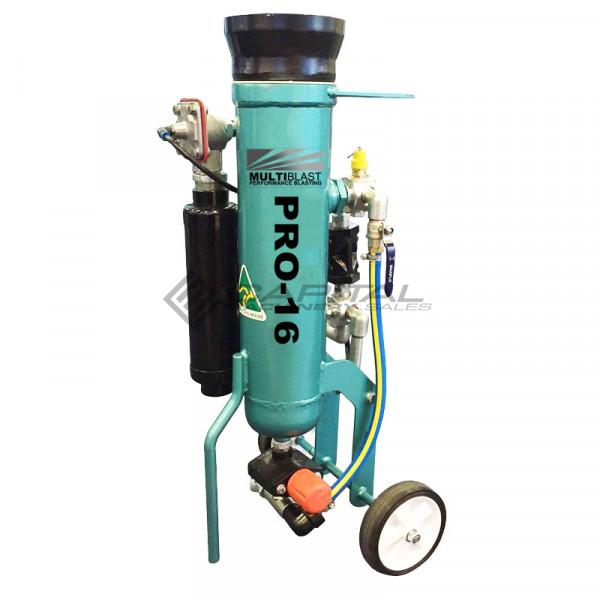 Multiblast Pro16 7 Litre Blasting Pot Machine Full Package Main