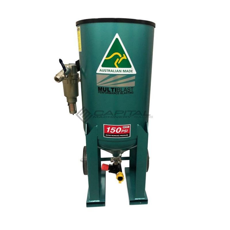 Multiblast Pro400 174 Litre Blasting Pot Equipment Basic Package 009