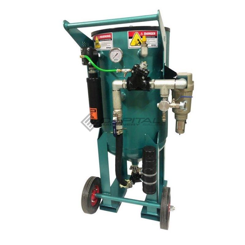 Multiblast Pro400 174 Litre Blasting Pot Equipment Full Package 002