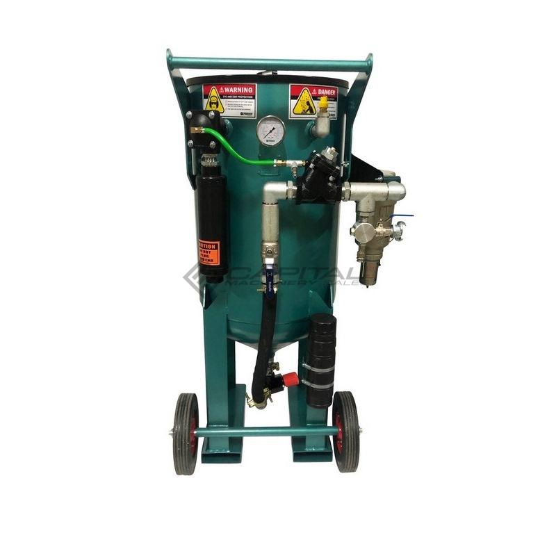 Multiblast Pro400 174 Litre Blasting Pot Equipment Full Package 003