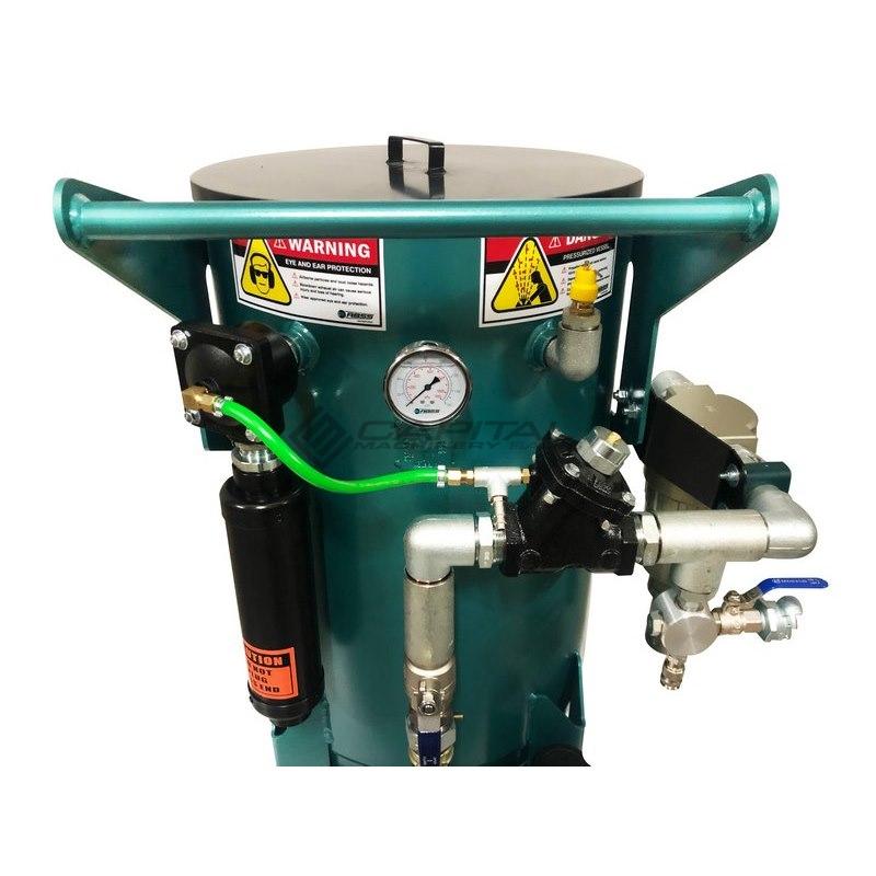 Multiblast Pro400 174 Litre Blasting Pot Equipment Full Package 004