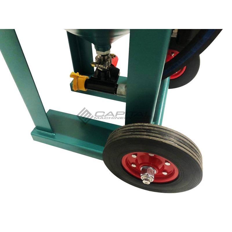 Multiblast Pro400 174 Litre Blasting Pot Equipment Full Package 005
