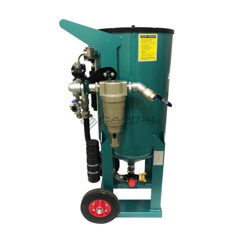 Multiblast Pro400 174 Litre Blasting Pot Equipment Full Package 006