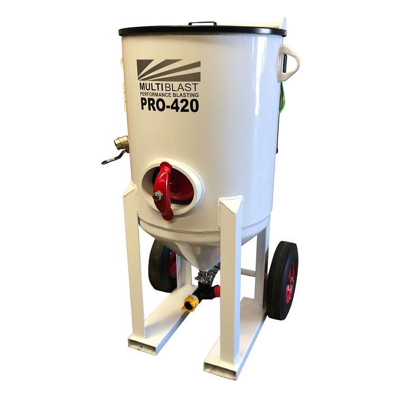 Multiblast Pro420 185 Litre Blasting Pot Machine Basic Package 3 Australia