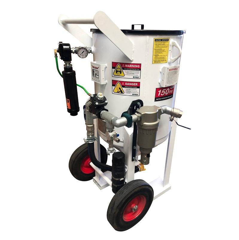 Multiblast Pro420 185 Litre Blasting Pot Machine Basic Package 4 Australia