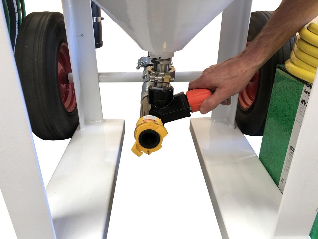 Multiblast Pro420 185 Litre Blasting Pot Machine Basic Package 6 Australia