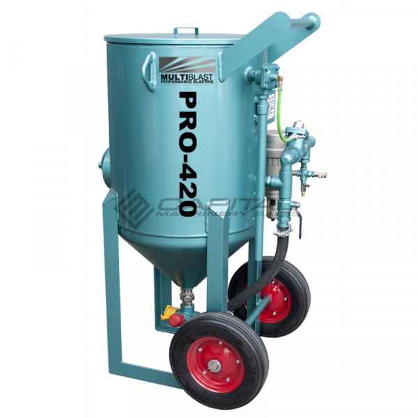 Multiblast Pro420 185 Litre Sandblasting Pot Machine