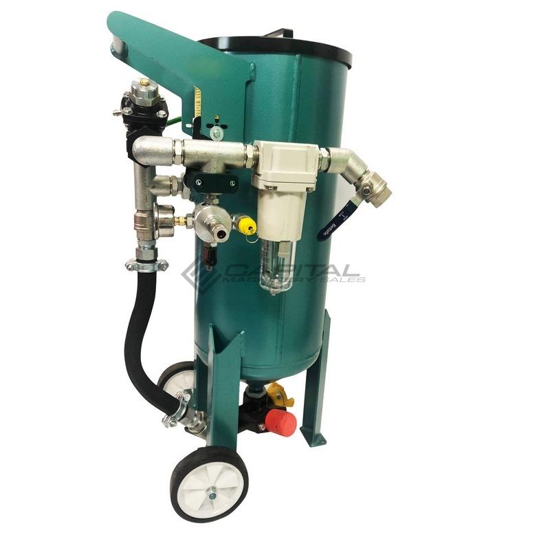 Multiblast Pro45 20 Litre Sandblasting Pot Machine Basic Package 003