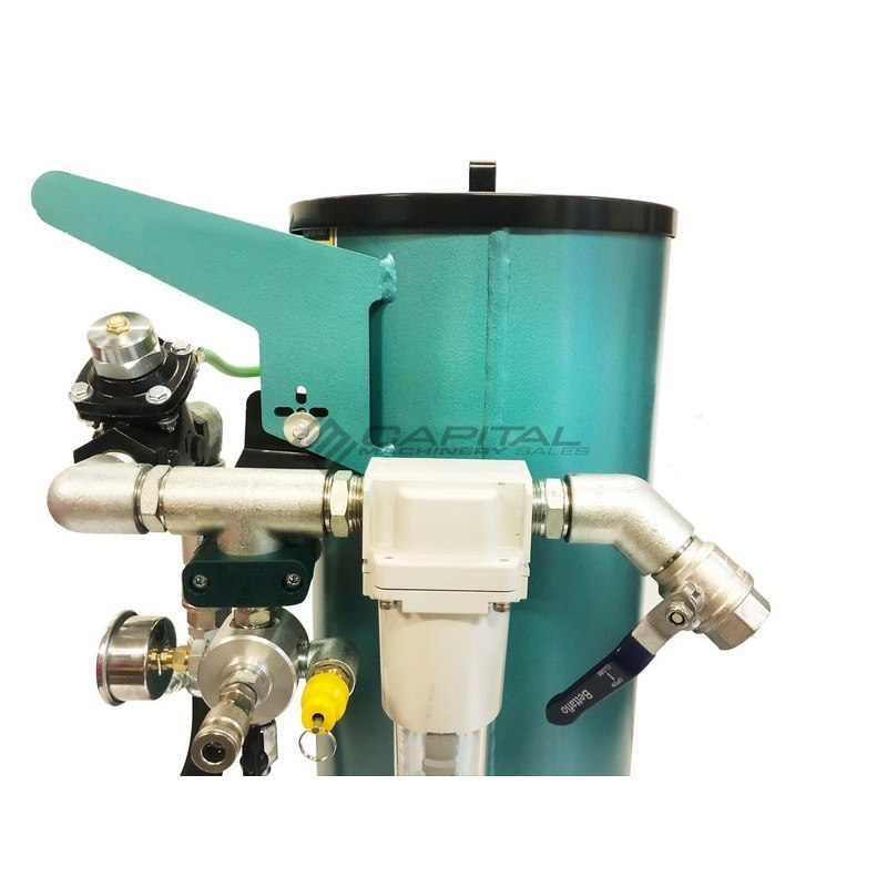 Multiblast Pro45 20 Litre Sandblasting Pot Machine Full Package 002