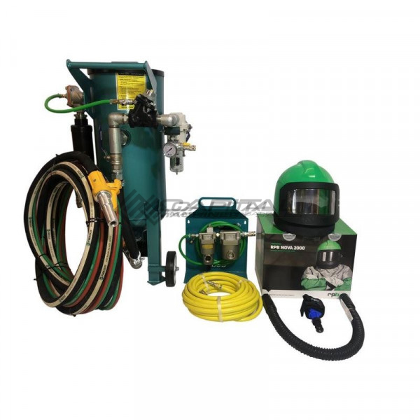 MultiBlast PRO45 - 20 Litre - Sandblasting Pot Machine Full Package