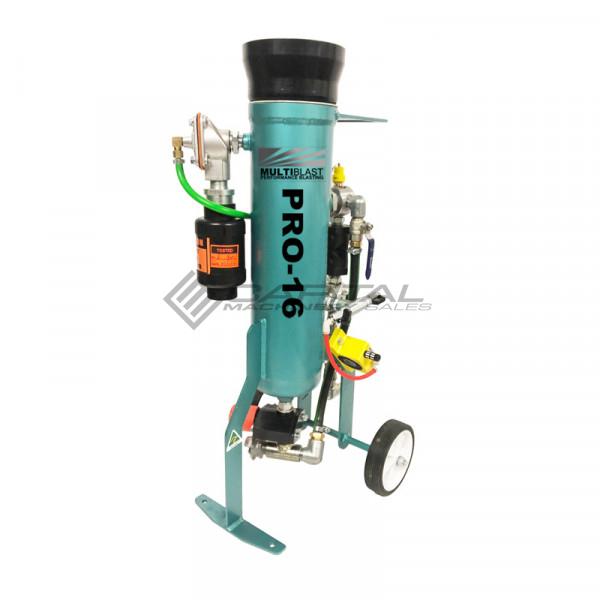 Multiblast Pro16 7 Litre Sandblasting Pot Machine Full Package With Soda Blasting Kit 002