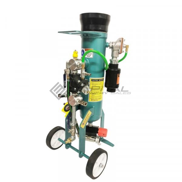 Multiblast Pro16 7 Litre Sandblasting Pot Machine Full Package With Soda Blasting Kit 003
