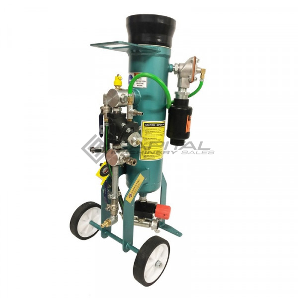 Multiblast Pro16 7 Litre Sandblasting Pot Machine Full Package With Soda Blasting Kit 004
