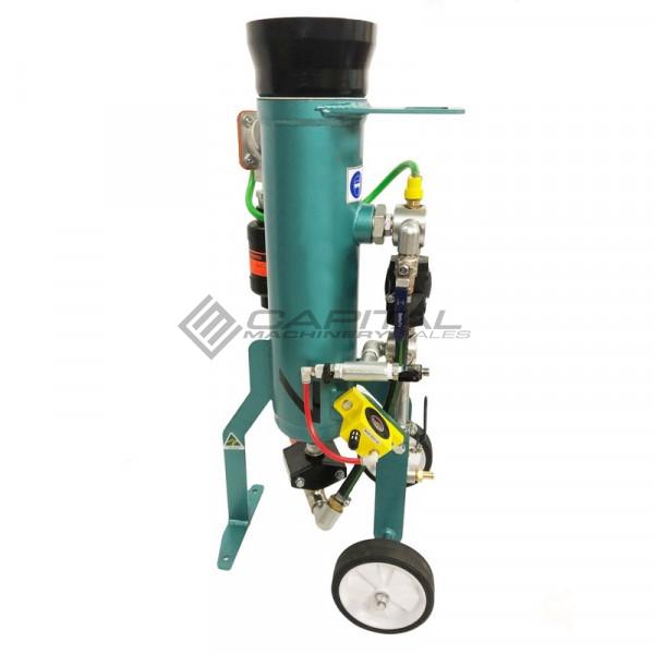Multiblast Pro16 7 Litre Sandblasting Pot Machine Full Package With Soda Blasting Kit 005
