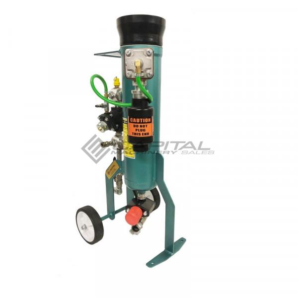 Multiblast Pro16 7 Litre Sandblasting Pot Machine Full Package With Soda Blasting Kit 007