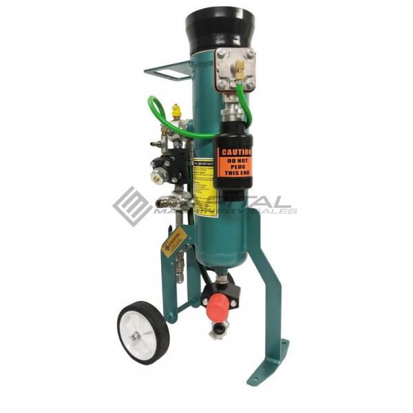 Multiblast Pro16 7 Litre Sandblasting Pot Machine Full Package With Soda Blasting Kit 009