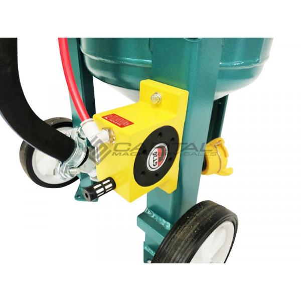Multiblast Pro16 7 Litre Sandblasting Pot Machine Full Package With Soda Blasting Kit