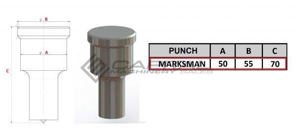 Marksman Gr4 Round Punch
