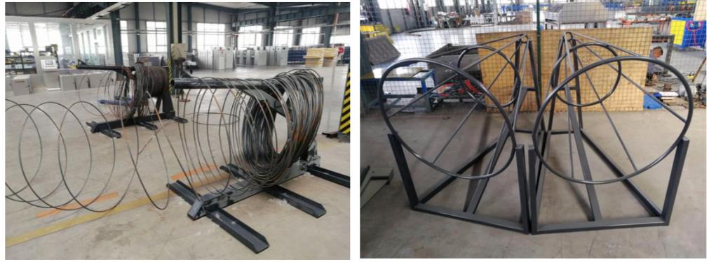 Reflex SB412 CNC Rebar Stirrup Bending Machine 5