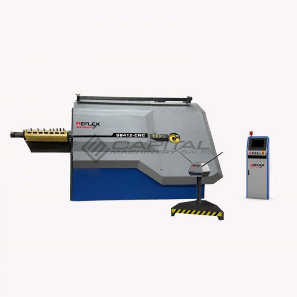 Reflex Sb412 Cnc Rebar Stirrup Bending Machine Front For Sale Australia