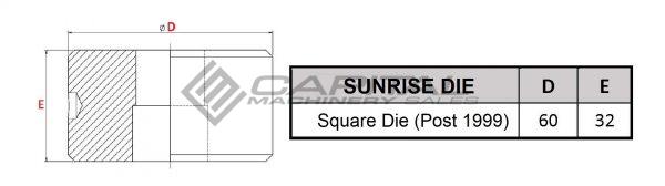 Sunrise Square Die Post 1999