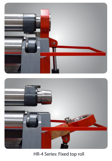 Anerka H4 Series Fixed Top Roll