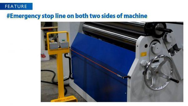 Initial Pinch Hydraulic Plate Rolling Machin Australia